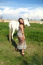 Bershka dress - Bershka heels