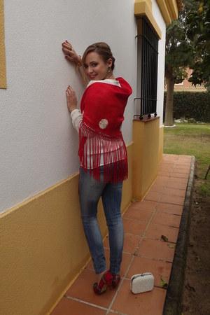 Mango jeans - Zara blouse