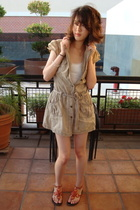 Forever21 dress - abercrombie and fitch top - taiwan shoes shoes