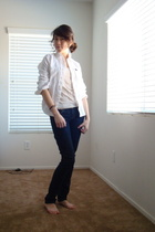 Abercrombie t-shirt - Abercrombie top - Forever21 jeans