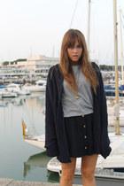 Zara Man cardigan - pull&bear top - Zara skirt