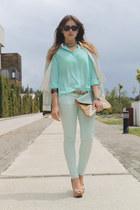 Queens Wardrobe blouse - BLANCO bag - Zara pants - Zara heels