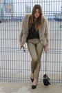 Zara-jeans-queens-wardrobe-jacket-purificacion-garcia-bag-zara-heels