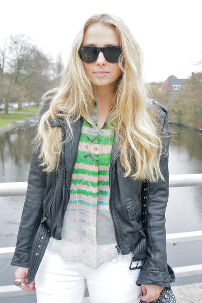 Zara jacket - Isabel Marant boots - Marc by Marc Jacobs purse - Zara pants