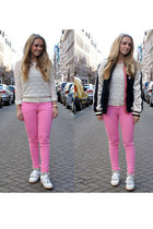 Isabel Marant jacket - Isabel Marant top - Zara pants - Isabel Marant sneakers