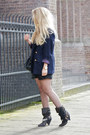 Black-isabel-marant-shorts-dark-gray-isabel-marant-boots