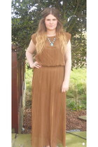 mustard maxi dress Want Her Dress dress - turquoise stone Topshop ring
