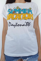 Daytona '86 Vintage Summer Vacation Tee