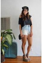 alice in chains vintage hat - vintage bag - Total Recall Vintage shorts