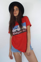 Vintage 80s Washington DC Red Tourist Tee