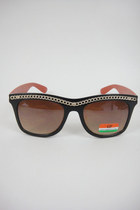 Vintage Faux Chain Sunglasses