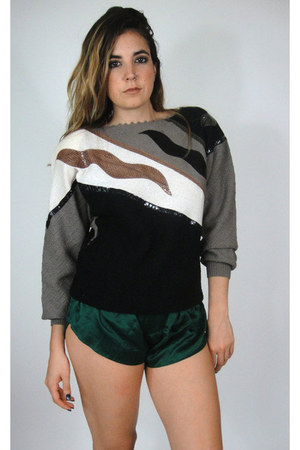 80s retro indie sweater