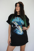 Vintage 90s Oversized Florida Marlins Tee