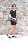Black-chanel-bag-black-ray-ban-sunglasses-black-the-kooples-skirt