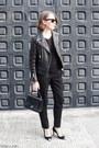 Black-the-kooples-jacket-black-anya-hindmarch-bag-black-ray-ban-sunglasses