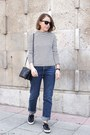 Navy-mih-jeans-jeans-navy-celine-bag-black-ray-ban-sunglasses
