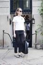 Dark-gray-etoile-isabel-marant-jeans-black-celine-bag