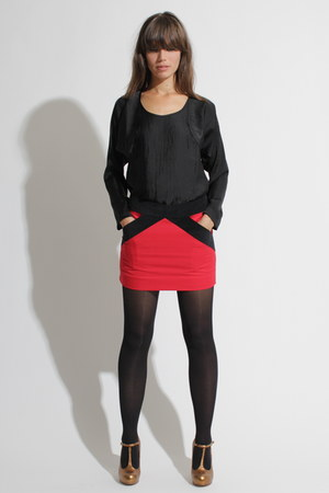 Ulrika Sandstrm top - Topshop shoes - Ulrika Sandstrm skirt