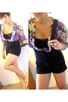 Stitches top - intimate - Limite shorts - shoes - Aldo Accessories accessories