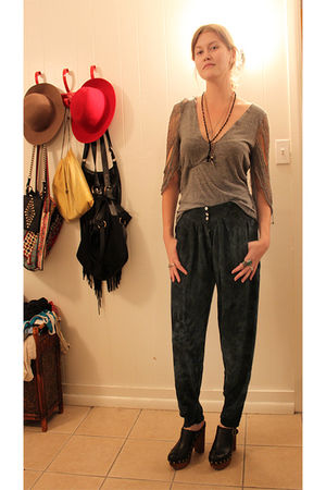 clogs Jeffrey Campbell shoes - harem pants wwwthingsonhangerscom pants