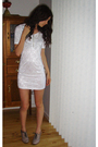 White-globalise-dress-beige-diana-ferrari-boots