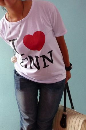 Accessorize necklace - ninimax Vietnam jeans - sms Vietnam shirt - vintage bag -