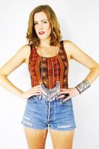 tawny Trashy Vintage bodysuit