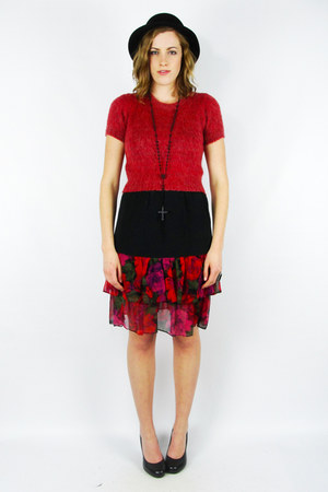 ruby red Trashy Vintage skirt