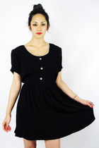 black button babydoll Trashy Vintage dress
