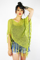 lime green Trashy Vintage sweater