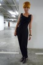 Topshop dress - vintage accessories - vintage shoes