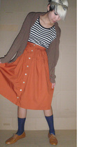 vintage from Ebay dress - - skirt - free from airline socks - Topshop shoes - ol