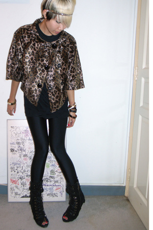 forever 21 jacket - shirt - American Apparel pants - Ebay shoes - accessories