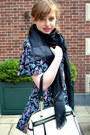 Black-vintage-dress-black-marc-jacobs-for-target-scarf