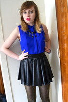 Dizzy Lizzy top - active basic jacket - H&M tights - Love Culture skirt