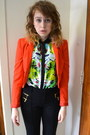 Black-diba-boots-carrot-orange-forever-21-jacket-black-michael-kors-pants