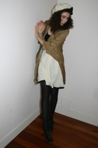 Georges Rech coat - Holt Renfrew hat - my moms closet skirt - Marc Jacobs shoes