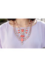 Periwinkle-sparrow-trendabelle-blouse-coral-hollywood-trendabelle-necklace