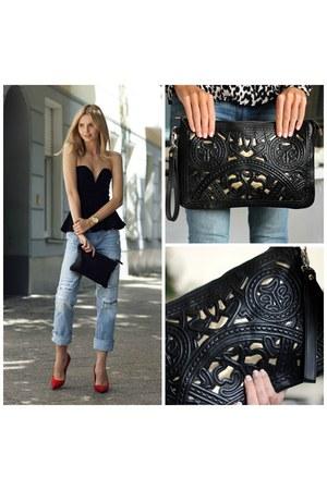 black clutch Trendabelle bag