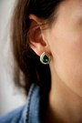 Levis-shirt-forever-21-earrings