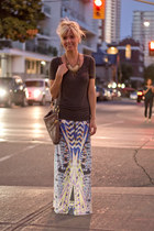 Wkshp skirt - TBabaton shirt - Marc by Marc Jacobs purse