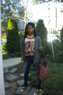 Flea-market-top-flea-market-jeans-marshalls-purse