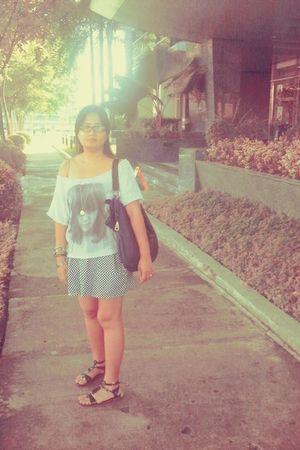 Zara t-shirt - WAGW dress - Just G shoes