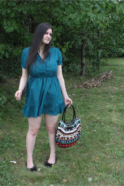 H&M dress - braccialini accessories - shoes