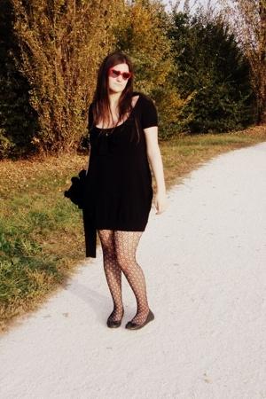 sunglasses - dress - H&M socks - shoes