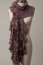 Faux Fur Scarf Scarves