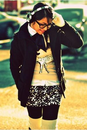 H&M sweater - Forever 21 skirt