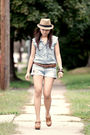 Urban-outfitters-top-forever-21-shorts-charlotte-russe-shoes-forever-21-be