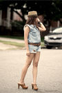 Urban-original-top-forever-21-shorts-charlotte-russe-shoes-forever-21-belt