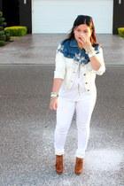 white Forever 21 jacket